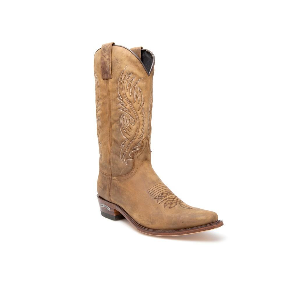Compra en Noel Western Boots estas Botas Sendra Western para Hombre en cuero marrón modelo 12632 con envíos gratis a península clave 46024 -