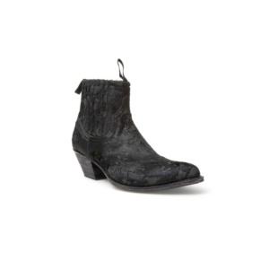 Compra en Noel Western Boots estos Botines Sendra moda para Mujer en pelo color negro modelo 12380 con envíos gratis a península clave 47029