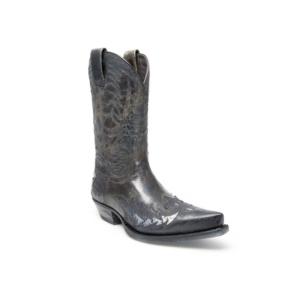 Compra en Noel Western Boots estas Botas Sendra Western para hombre de cuero negro modelo 12268 con envíos gratis a la península clave 47292