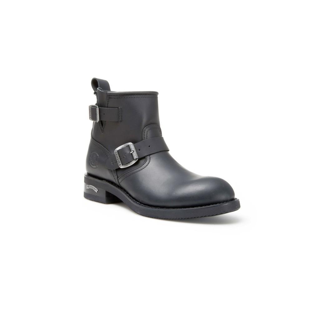 Compra en Noel Western Boots estos Botines para hombre de cuero negro modelo 2976 con envíos gratis a la península clave 49959 -