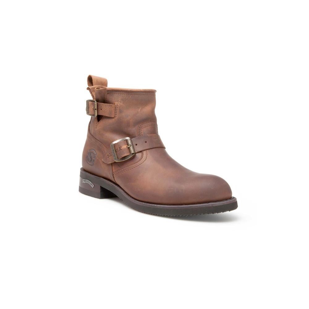 Compra en Noel Western Boots estos Botines para hombre de cuero marrón modelo 2976 con envíos gratis a la península clave 49959 -