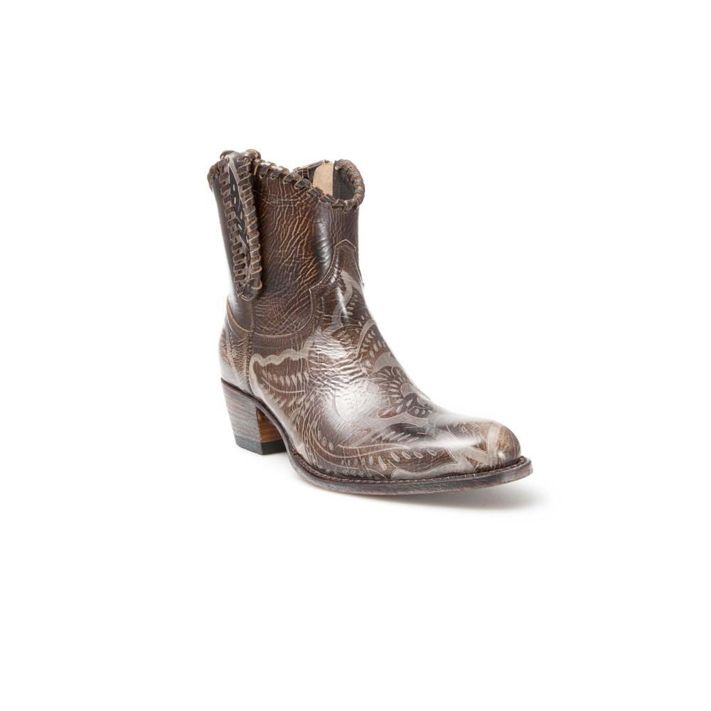 Compra en Noel Western Boots estos Botines Sendra moda de mujer de cuero marrón modelo 13838 con envíos gratis a la península clave 50501 -