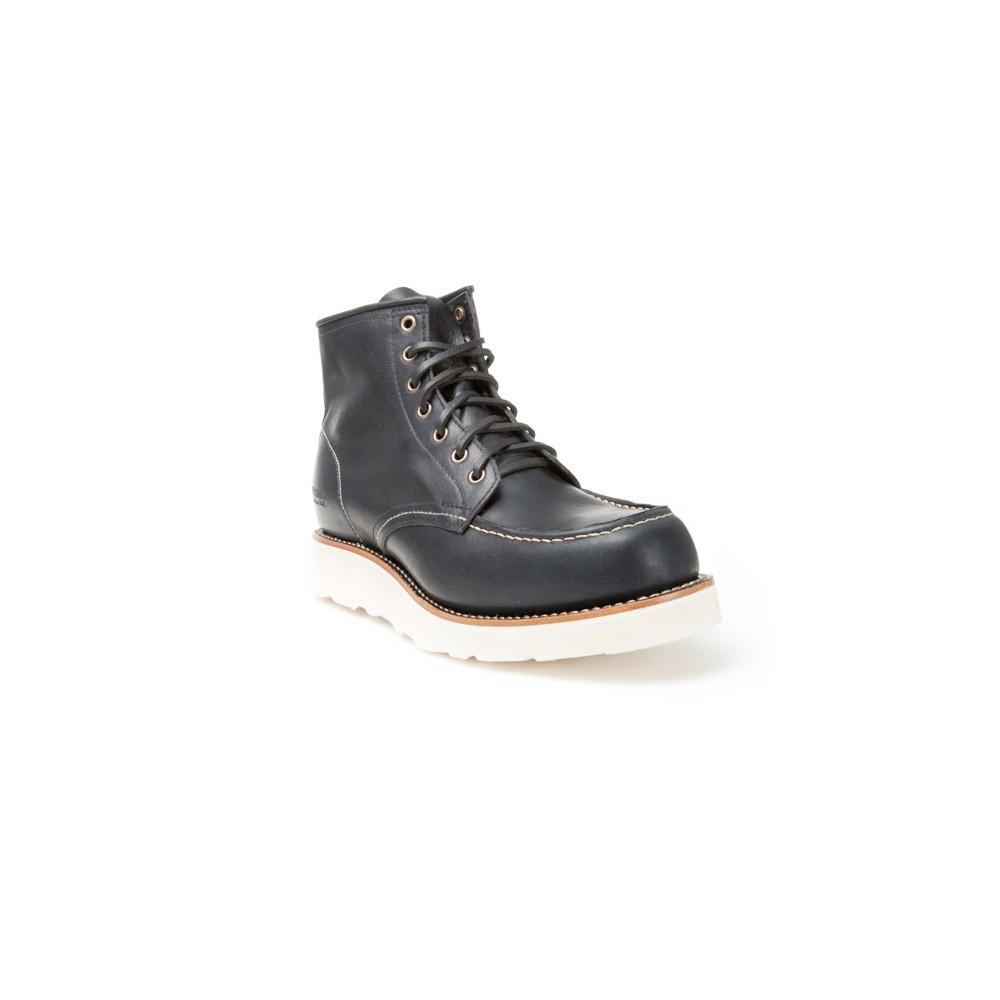Compra en Noel Western Boots estos Botines Sendra Moda cordones para hombre de cuero negro modelo 12799 con envíos gratis a la península clave 50651 -