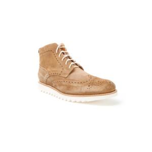 Compra en Noel Western Boots estos Botines Sendra Moda Cordones para hombre en serraje marrón camel modelo 10742 con envíos gratis a la península clave 50853