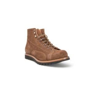 Compra en Noel Western Boots estos Botines Sendra Moda cordones para hombre de serraje marrón taupe modelo 12915 con envíos gratis a la península clave 50869