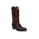 Compra en Noel Western Boots estas Botas Sendra Western para mujer de piel de serpiente marrón modelo 13708 con envíos gratis a la península clave 52645 - __[GALLERYITEM]__