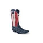 Compra en Noel Western Boots estas Botas Sendra Western para hombre de cuero azul, rojo y blanco modelo 10695 con envíos gratis a la península clave 52648 - __[GALLERYITEM]__