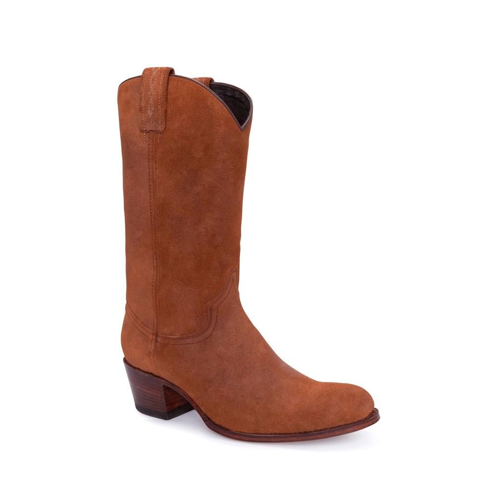 7ca25f8dd Botas Sendra 10490 Debora Moda para mujer en serraje marrón liso