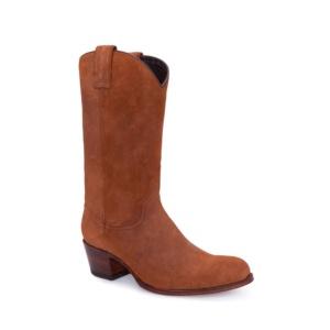 Compra en Noel Western Boots estas Botas Sendra moda para mujer en serraje marron liso modelo 10490 con envíos gratis a la península clave 52903