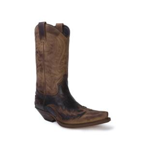 Compra en Noel Western Boots estas Botas Sendra Western para hombre de cuero marrón modelo 13871 con envíos gratis a la península clave 53021