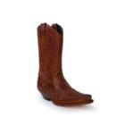 Compra en Noel Western Boots estas Botas Sendra Western para hombre de piel de vacuno aspecto reptil marrón modelo 13871 con envíos gratis a la península clave 53027 - __[GALLERYITEM]__