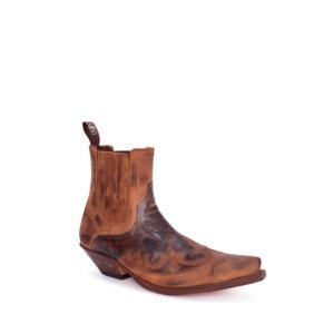 Compra en Noel Western Boots estos Botines Sendra Western para hombre de cuero tonos marrones modelo 9396 con envíos gratis a la península clave 53047
