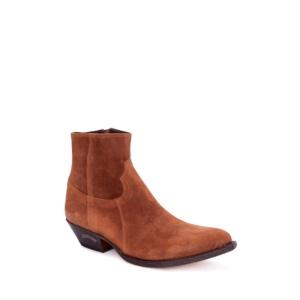 Compra en Noel Western Boots estas Botas Sendra 13792 Western para hombre en serraje marrón con cremallera con envíos gratis a la península 53052