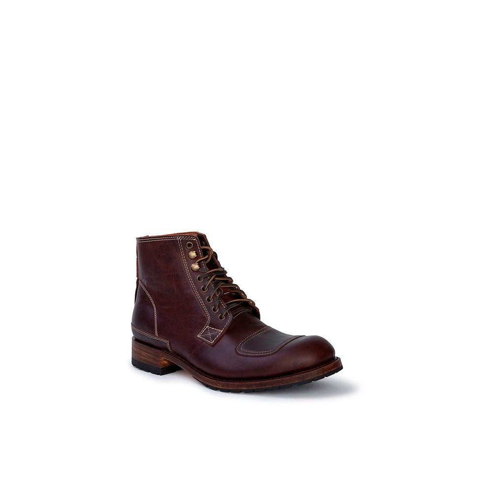 Compra en Noel Western Boots estos Botines Sendra Moda para hombre de cuero marrón caoba modelo 13925 con envíos gratis a la penínusla clave 53053 -
