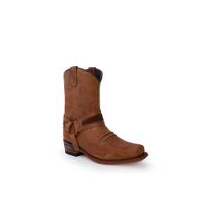 Compra en Noel Western Boots estas Botas Sendra Western para hombre de cuero marrón con arnés modelo 13872 con envíos gratis a la península clave 53056