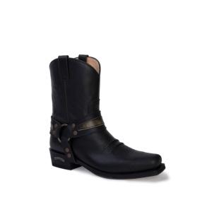 Compra en Noel Western Boots estas Botas Sendra Western para hombre de cuero negro con arnés modelo 13872 con envíos gratis a la península clave 53057