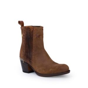 Compra en Noel Western Boots estos Botines Sendra Moda para mujer de serraje marrón modelo 13849 con envíos gratis a península clave 53062