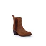 Compra en Noel Western Boots estos Botines Sendra Moda para mujer de serraje marrón modelo 13849 con envíos gratis a península clave 53062 - __[GALLERYITEM]__