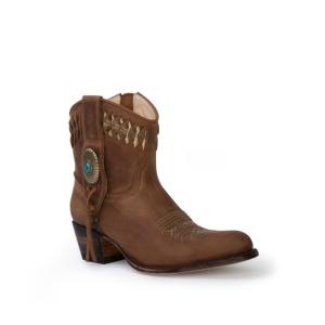Compra en Noel Western Boots estos Botines Sendra Western para mujer de cuero camel modelo 13387 con envíos gratis a península clave 53069
