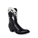 Compra en Noel Western Boots estos botines Sendra Western para mujer en cuero negro y blanco horma Lia con envíos gratis a península clave 5308 - __[GALLERYITEM]__