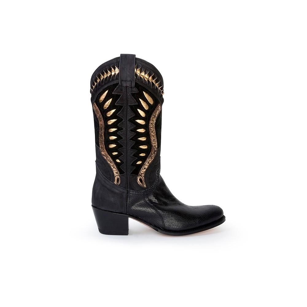 aeddfb10 Compra en Noel Western Boots estas Botas Sendra Western para mujer de cuero  ...
