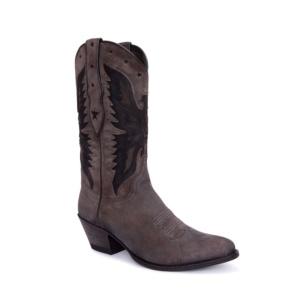 Compra en Noel Western Boots estas Botas Sendra Moda para mujer de serraje gris y negro con águila 5514 con envíos gratis a la península clave 54885