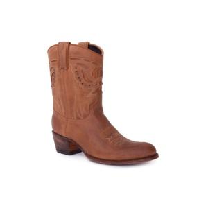 Compra en Noel Western Boots estos Botines Sendra Western para mujer de cuero marrón 10273 con envíos gratis a la península clave 54886