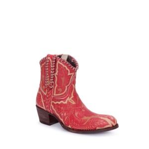 Compra en Noel Western Boots estos Botines Sendra moda de mujer de cuero rojo modelo 13409 con envíos gratis a la península clave 54906