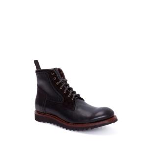 Compra en Noel Western Boots estos Botines Sendra Moda para hombre de cuero negro cordones suela de goma modelo 14472 con envíos gratis a la península clave 54913