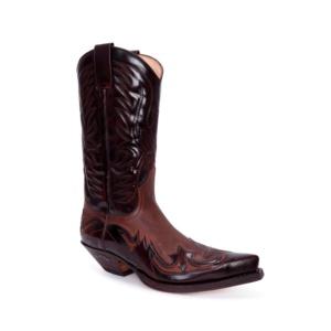 Compra en Noel Western Boots estas Botas Sendra Western para Hombre en cuero marrón florentic modelo 3241 con envíos gratis a península clave 55147