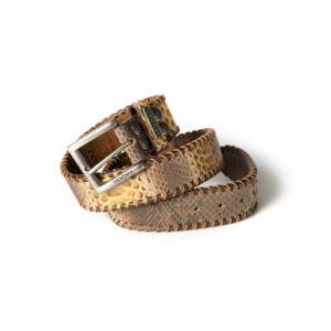Compra en Noel Western Boots este cinturón Sendra Western de piel de serpiente de cuero modelo 1009 con envíos gratis a la península 55520