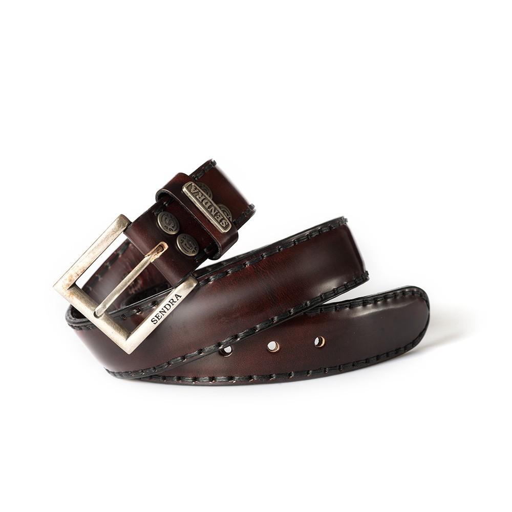 Compra en Noel Western Boots este cinturón Sendra Western de cuero color marrón modelo 8563 con envíos gratis a la península 55731 - __[GALLERYITEM]__