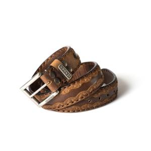 Compra en Noel Western Boots este cinturón Sendra Western de cuero color cuero modelo 8347 con envíos gratis a la península 55839