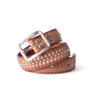 Compra en Noel Western Boots este cinturón Sendra Western en cuero marrón taupe modelo 511 con envíos gratis a la península 55848