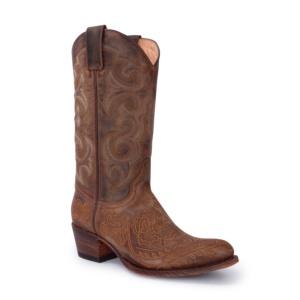 Compra en Noel Western Boots estos Botines Sendra moda para mujer en nobuck beige con bordado floral modelo 14605 con envíos gratis a la península clave 56598