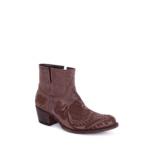 Compra en Noel Western Boots estos Botines Sendra moda para mujer de piel marron con bordado de flores modelo 14643 con envíos gratis a la península clave 56601 - __[GALLERYITEM]__