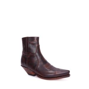 Compra en Noel Western Boots estos Botines Sendra Western para mujer de cuero marrón liso con cremallera modelo 7826 con envíos gratis a la península clave 56730