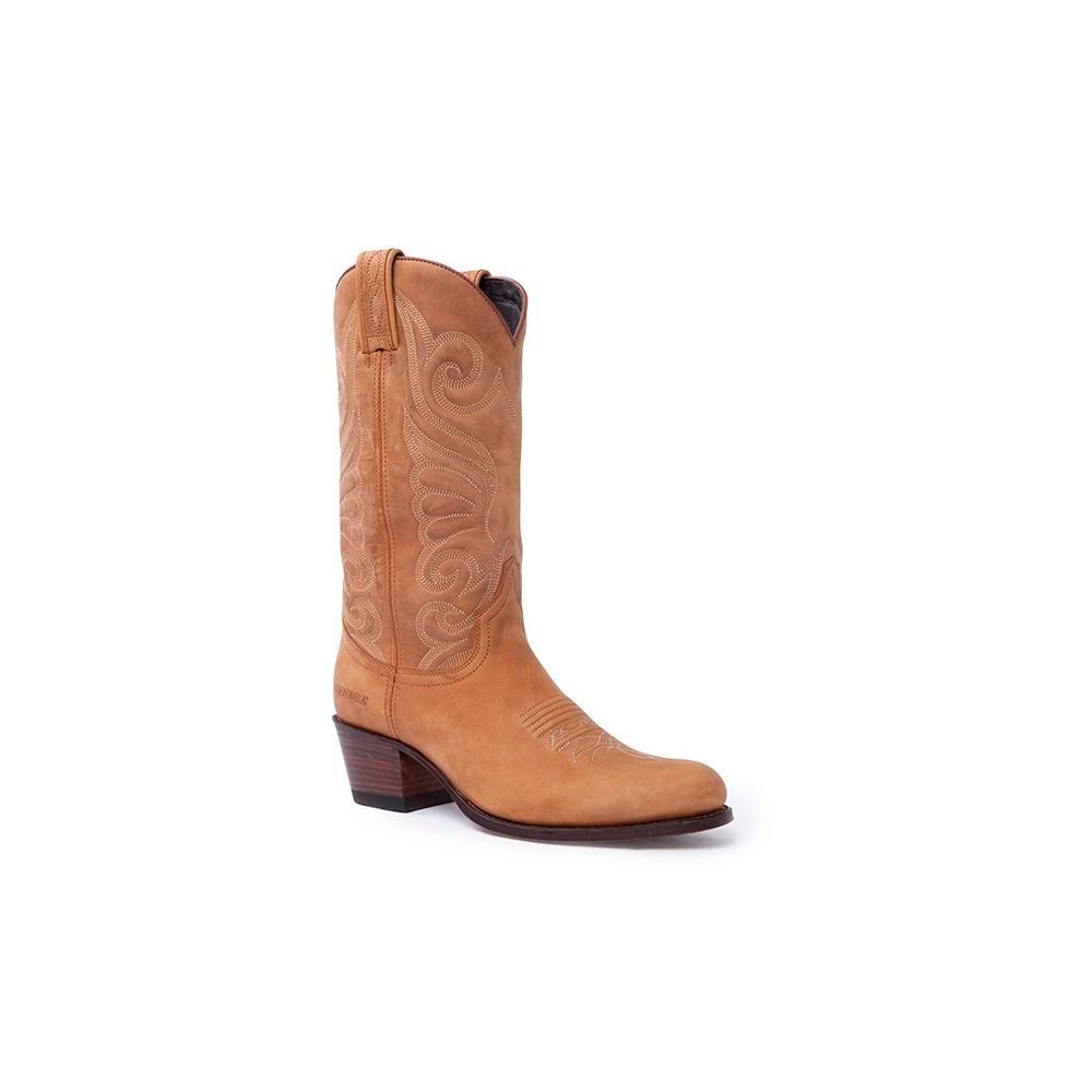 estilo popular especial para zapato zapatillas Botas Sendra 11627 Debora Moda para mujer en cuero marrón