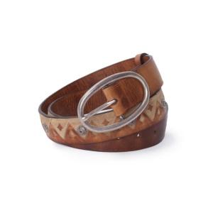 Compra en Noel Western Boots este cinturón Sendra Western de piel marron de estilo étnico para mujer modelo 1212 con envíos gratis a la península 58317