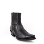 Compra en Noel Western Boots estos botines Sendra Western para hombre en cuero negro con cremallera modelo 7826 horma Cuervo con envíos gratis a península clave 58719 - __[GALLERYITEM]__