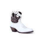 Compra en Noel Western Boots estos Botines Sendra moda para Mujer en cuero blanco y cobre con cremallera modelo 15107 con envíos gratis a península clave 58828 - __[GALLERYITEM]__