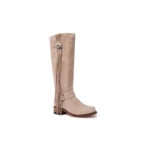 Compra en Noel Western Boots estas Botas Sendra 15248 Moda para mujer en serraje taupe con envíos gratis a la península 58832