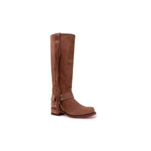 Compra en Noel Western Boots estas Botas Sendra 15248 Moda para mujer en serraje marrón con envíos gratis a la península 58832
