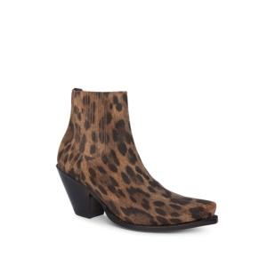Compra en Noel Western Boots estos botines Sendra Western para mujer de serraje estampado jaguar y elásticos y con envíos gratis a la península clave 59566