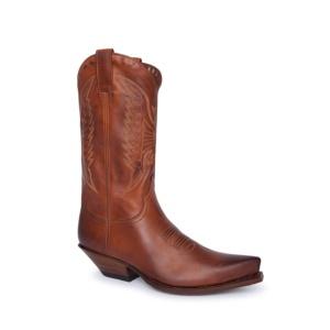 Compra en Noel Western Boots estas botas Sendra Western para Mujer en cuero marrón caña sin forro más blandas modelo 7173 horma Cuervo con envíos gratis a península clave 61151