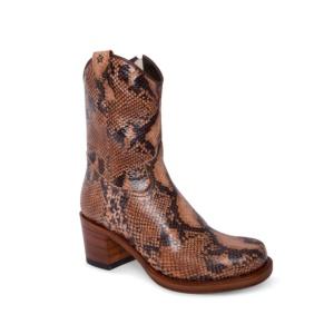 Compra en Noel Western Boots estas botas Sendra Moda para mujer en cuero con aspecto de serpiente modelo 15952 horma Toledo con envíos gratis a península clave 63750
