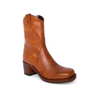 Compra en Noel Western Boots estas botas Sendra Moda para mujer en piel beige claro liso modelo 15952 horma Toledo con envíos gratis a península clave 63861