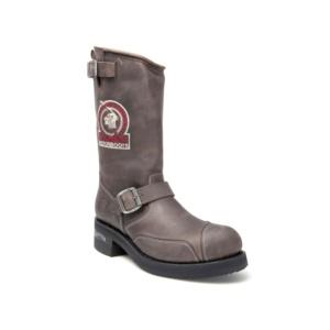 Compra en Noel Western Boots estas Botas Sendra Biker para hombre de cuero grafito con hebilla y bordado modelo 3565 con envíos gratis a la península 7726