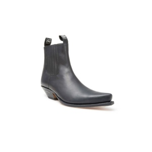 Compra en Noel Western Boots estos Botines Sendra Western para hombre de cuero negro modelo 1692 con envíos gratis a la península de la clave 7796
