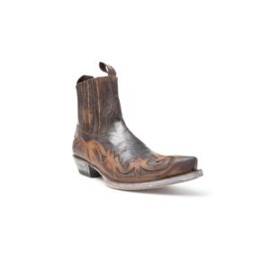 Compra en Noel Western Boots estos Botines Sendra Western para hombre de cuero marrón con elásticos modelo 4660 con envíos gratis a la península 7871